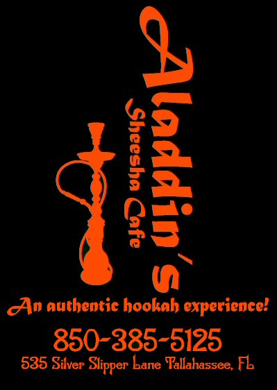 Aladdin's Sheesha Cafe - Tallahassee Hookah Bar